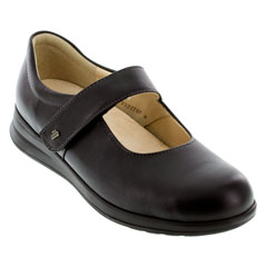 Finn Comfort Beja Black Shoes