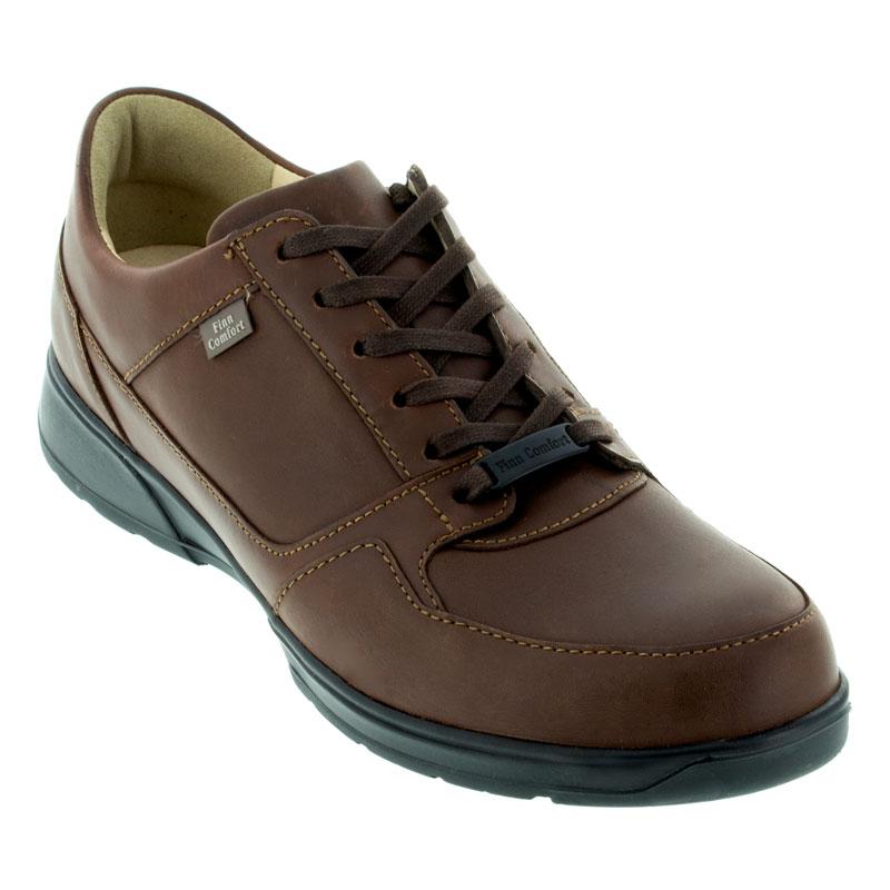 Finn Comfort Brawley Schocko Nuri Leather Soft Footbed 8 Uk