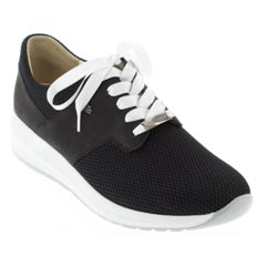 Finn Comfort Caino Black Shoes