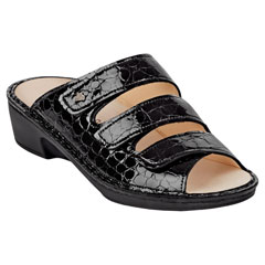 Finn Comfort Canzo Black Sandals