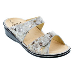 Finn Comfort Catalina Pebble Stone Sandals