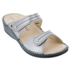 Finn Comfort Catalina Leather Soft Footbed Smog