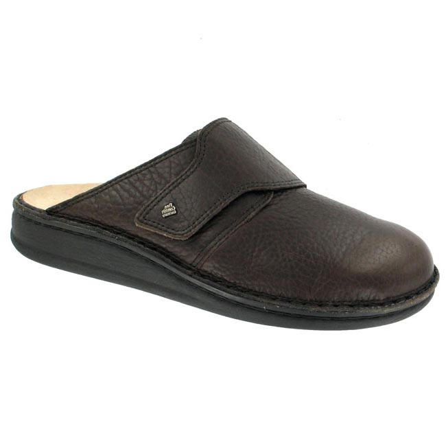 Finn Comfort Amalfi Leather Soft Footbed Mocha
