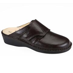 Finn Comfort Aussee Leather Soft Footbed Kaffee
