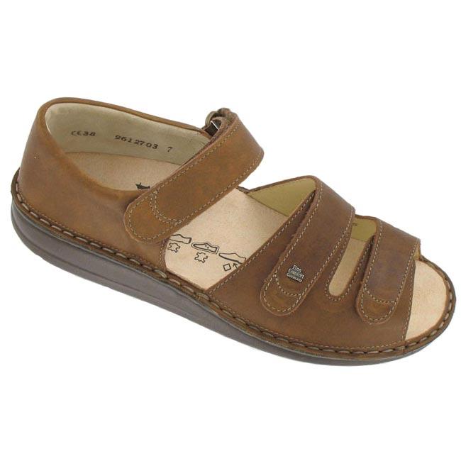 e2589d26b1b6 Finn Comfort Baltrum Leather Nut - HappyFeet.com