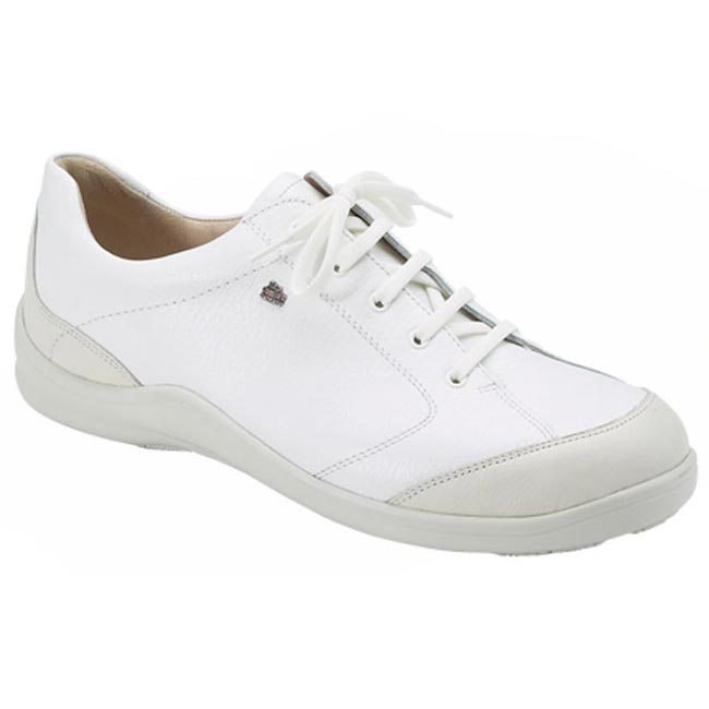 Finn Comfort Cusco Leather Soft Footbed White