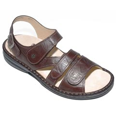 Finn Comfort Gomera Leather Soft Footbed Kaffee