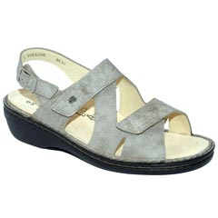 Finn Comfort Jalta Leather Soft Footbed Rock