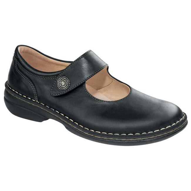 Finn Comfort Laval Leather Black