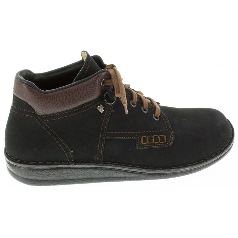 Finn Comfort Linz Black Nubuck right side right shoe