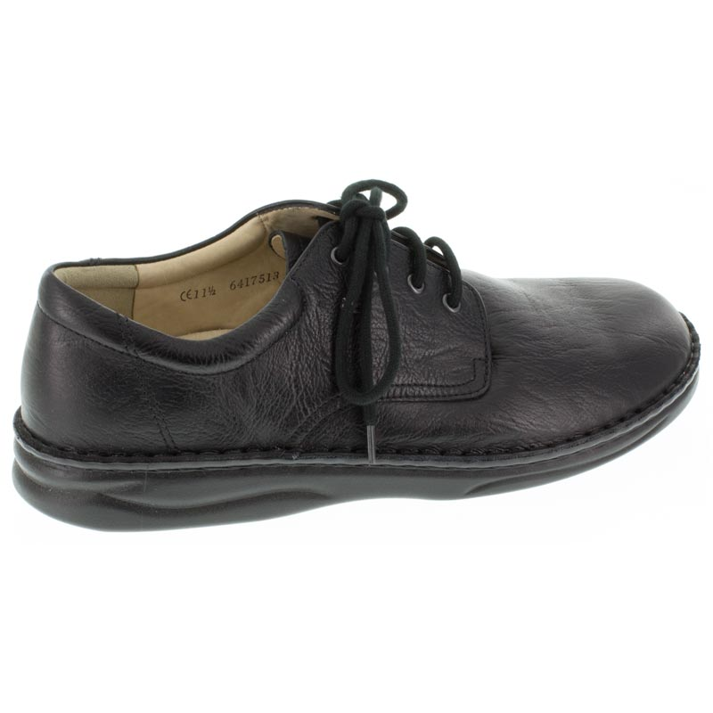 Finn Comfort Metz Black Leather right side right shoe
