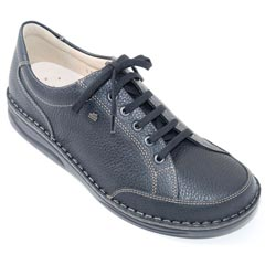 Finn Comfort Nantes Black Shoes