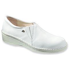Finn Comfort Newport Leather White