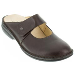 Finn Comfort Stanford Leather Kaffee