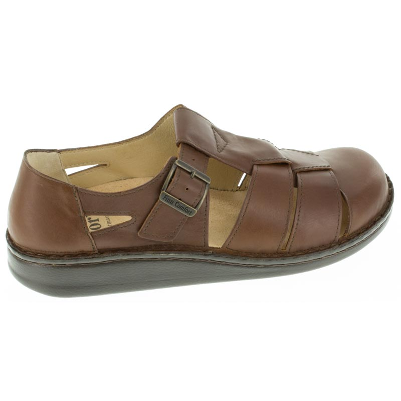 Finn Comfort Tropez Chestnut Leather right side right shoe