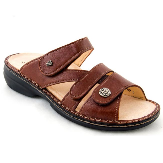 Finn Comfort Ventura Leather Soft Footbed Saddle