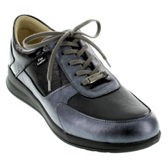Finn Comfort Corato Black Shoes