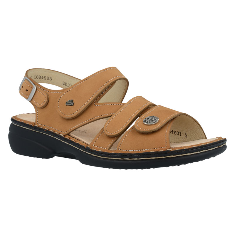 Finn Comfort Gomera Almond Nubuck Soft Footbed 36