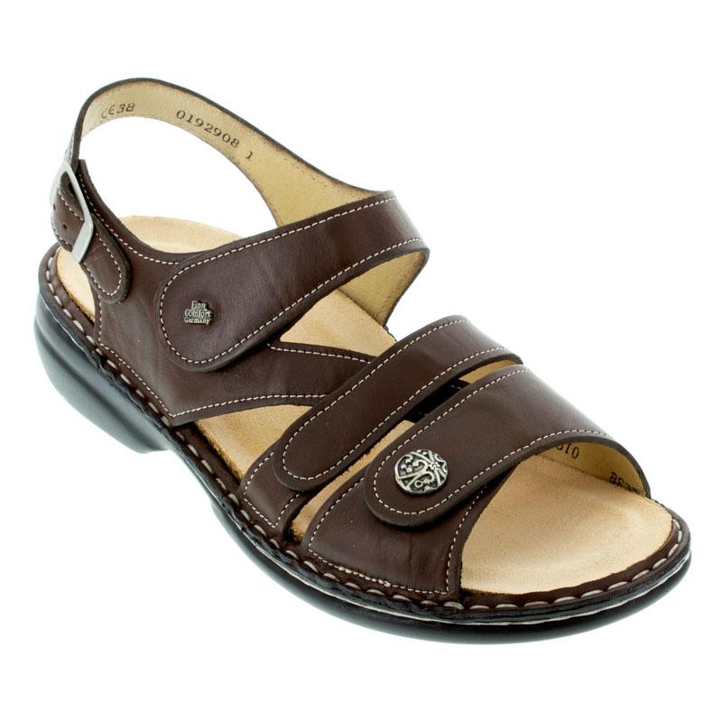 Finn Comfort Gomera Kastanie Leather Soft Footbed 42