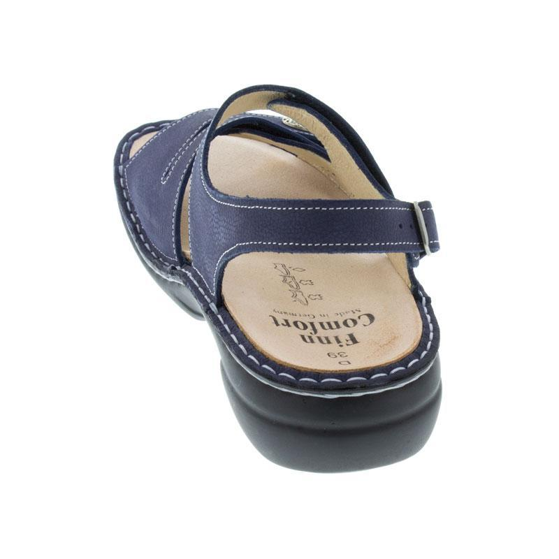 Finn Comfort Gomera Lake Nubuck Soft Footbed
