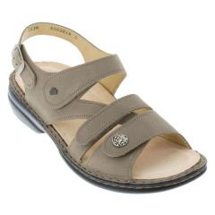 Finn Comfort Gomera Leather Soft Footbed Taupe