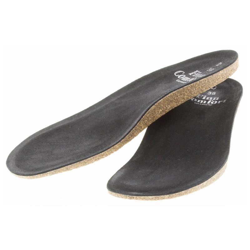 Finn Comfort Classic Wedge Soft Footbed Insole from left side