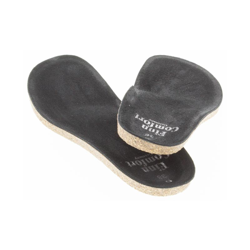 Finn Comfort Classic Wedge Soft Footbed Insole back view