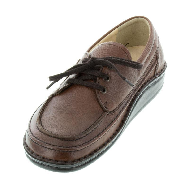 Finn Comfort London Havana Leather Soft Footbed