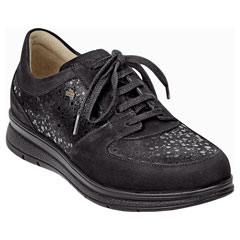 Finn Comfort Royan Black Shoes