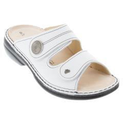 Finn Comfort Sansibar Leather Soft Footbed White
