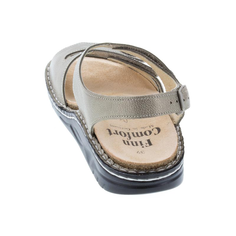 Finn Comfort Tiberias Fango Leather Soft Footbed