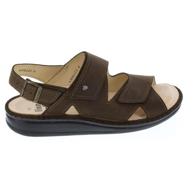 Finn Comfort Toro Wood Leather Soft Footbed