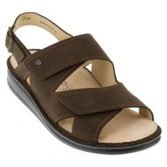 Finn Comfort Toro Leather Soft Footbed Wood