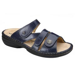 Finn Comfort Ventura Leather Soft Footbed Ocean