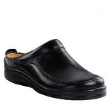 FOOTPRINTS ASHBY LEATHER BLACK
