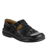 FOOTPRINTS MADEIRA LEATHER BLACK