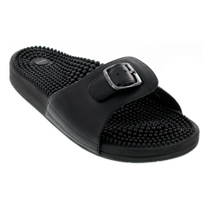 Kenkoh Chai V Black Massage Sandal 28
