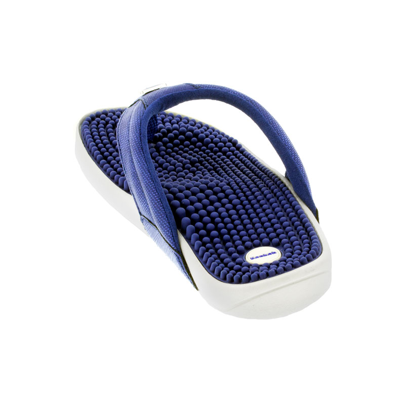 Kenkoh Spirit Royal Blue Massage Sandal back view