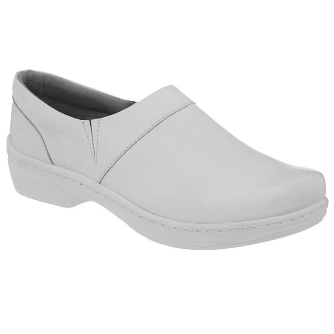 Klogs Mission Smooth Leather White