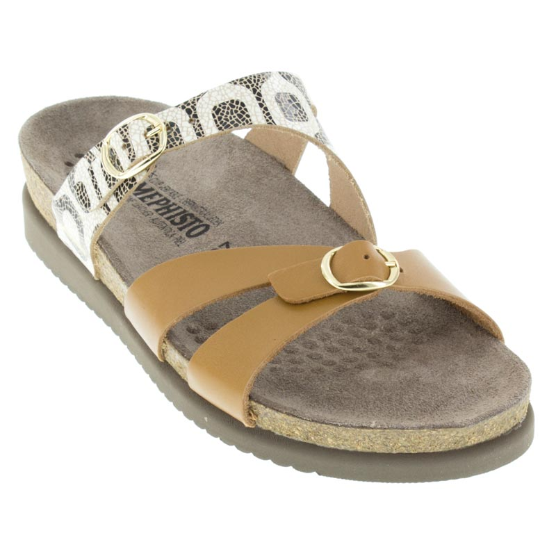 Mephisto Hannel Camel Sandals