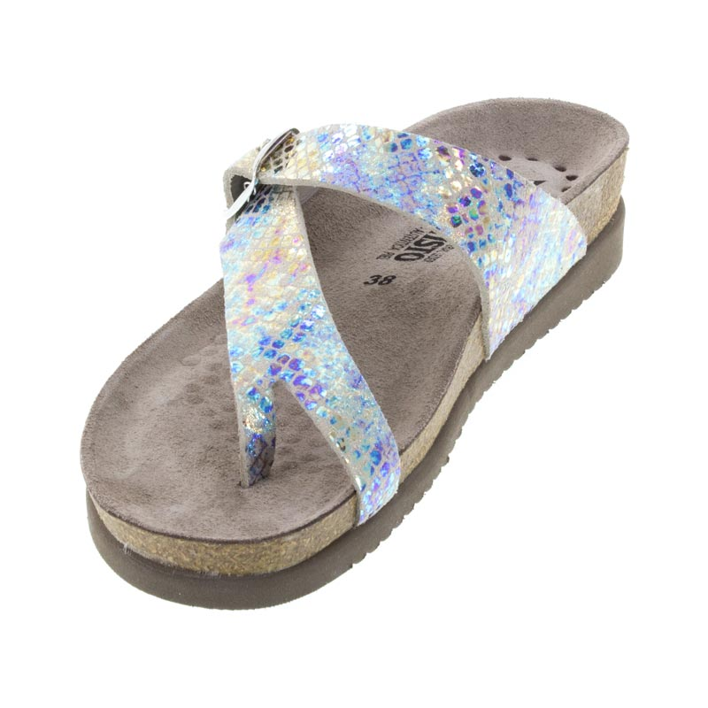 Mephisto Helen Print Leather sandal left front
