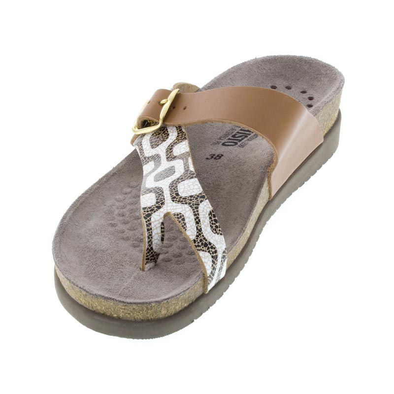 Mephisto Helen Camel Leather sandals