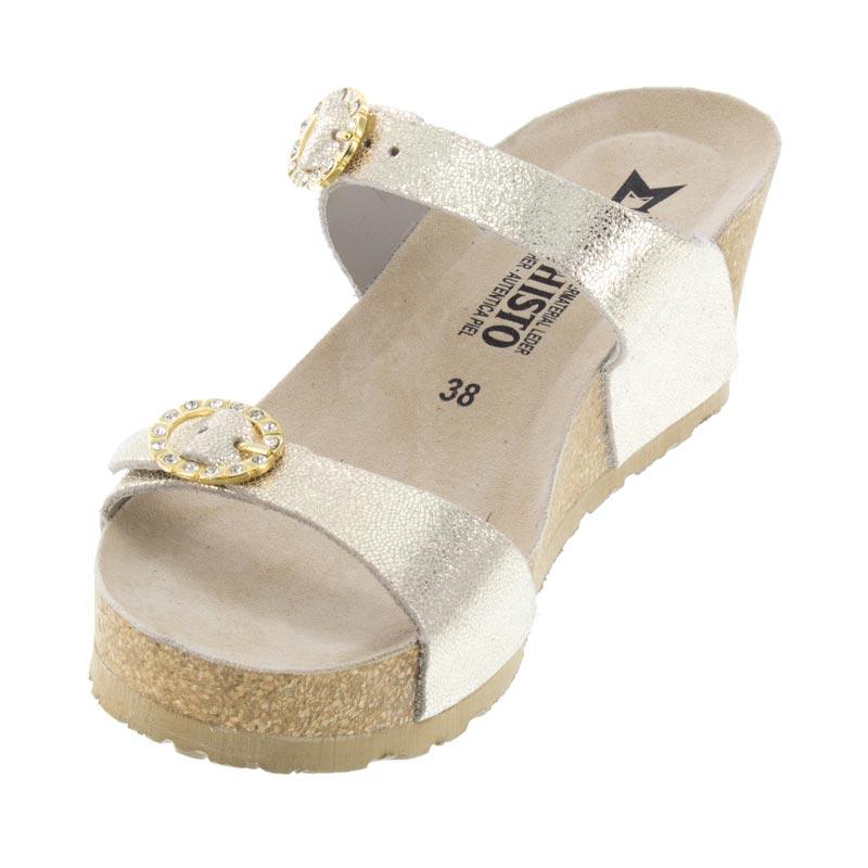 949e5af2b109 Womens Mephisto Lidia Platinum Leather High Heel - Happyfeet.Com