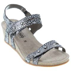 Mephisto Minoa Light Grey Sandals