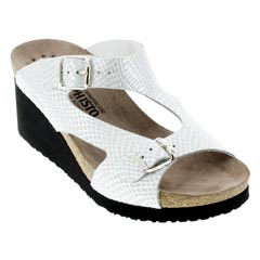 Mephisto Terie White Sandals