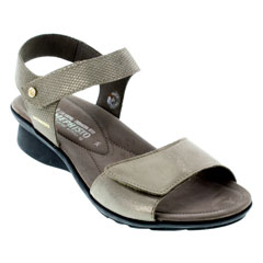 Mephisto Pattie Dark Taupe Sandals