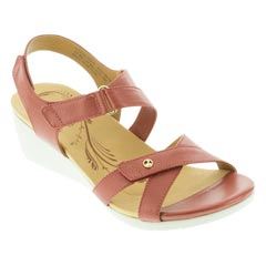 Revere Casablanca Ruby Metallic Sandals