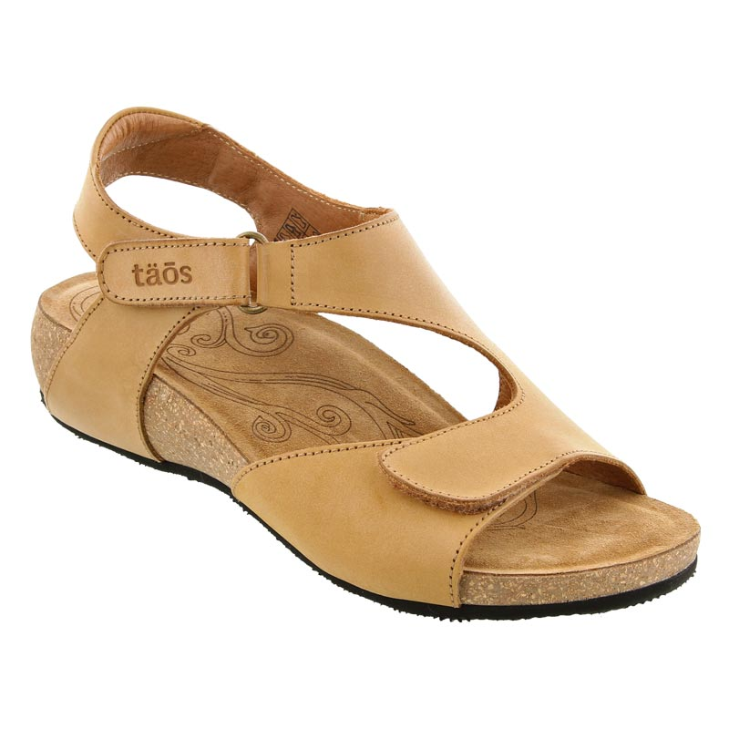 Womens Taos Rita Tan Leather Happyfeet Com