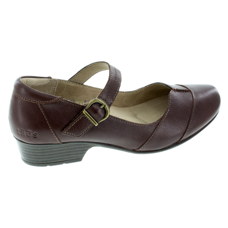 Taos Balance Brunette Leather Shoes right side view