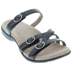 Taos Captive Black Sandals